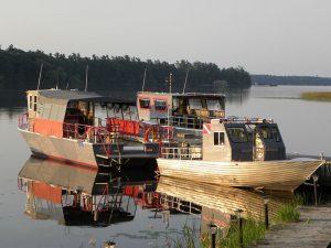 Pleasure Diving Boat Fleet St. Lawrence Seaway Canada