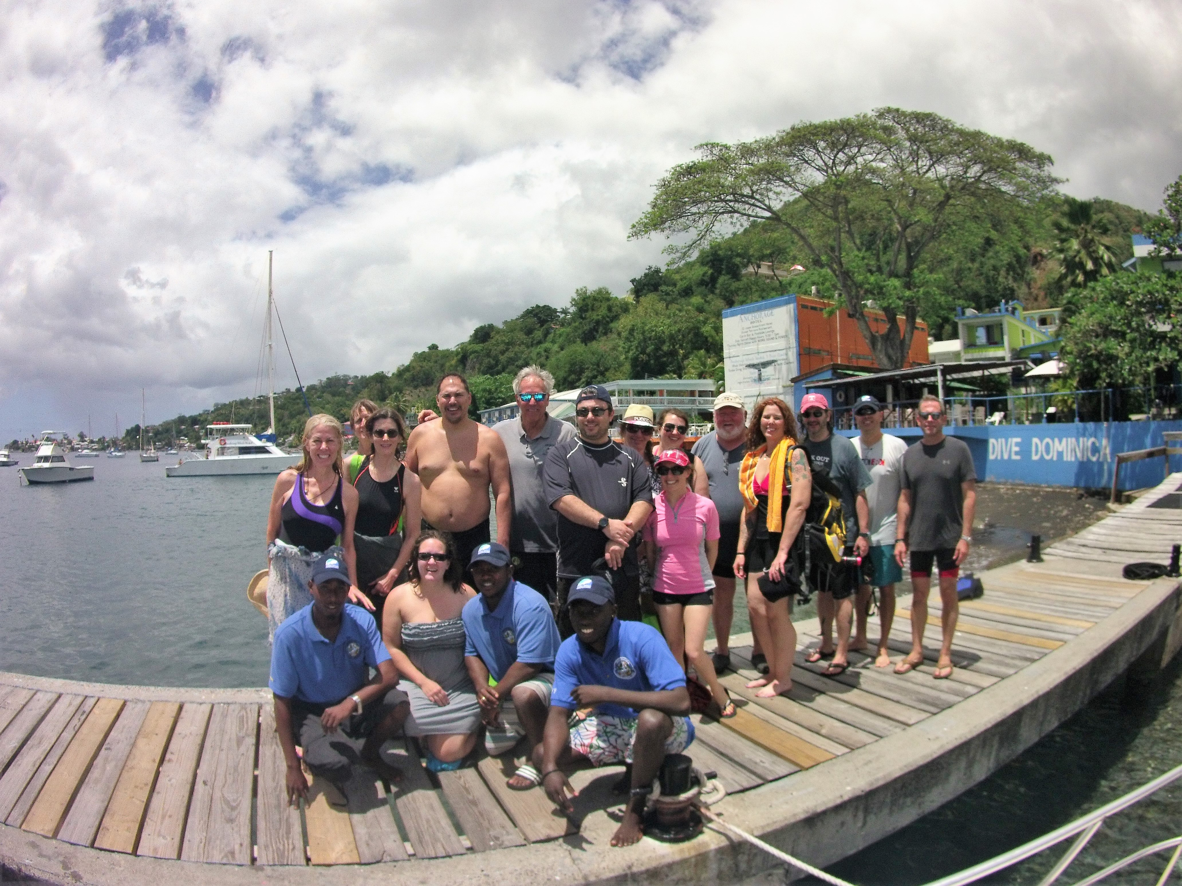 Dive group travel - Dominica