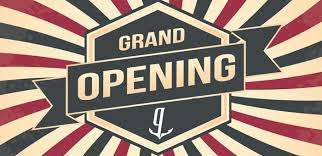Grand Opening April 27-29, 2018