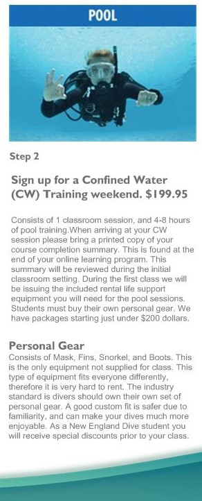 Step 2 Open Water Training