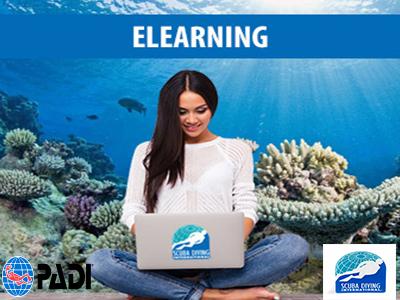 Dive E-Learning PADI SDI