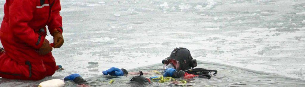 ERD Ice Rescue Course Banner