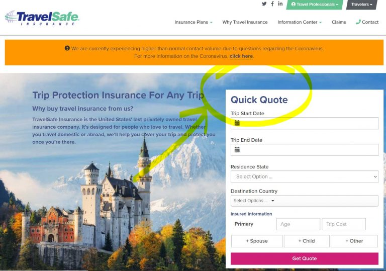 Use Travelsafe quick guide